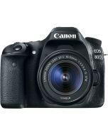 Canon EOS 80D 18-55mm Lens