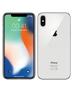 Apple iPhone X 64GB Silver without FaceTime + Apple Warranty