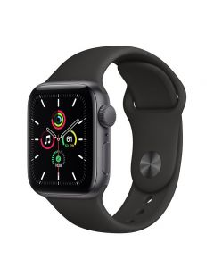 Apple Watch SE (2020) 40mm MYDT2 GPS Space Gray Aluminum Case with Sport Band