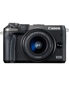 Canon EOS M6 with 15-45mm Lens Mirrorless Digital Camera