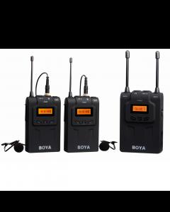 Boya Pro Dual Channel Wireless Mic System BY-WM8