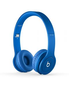 Beats Solo HD Headphones Drenched In Color Blue