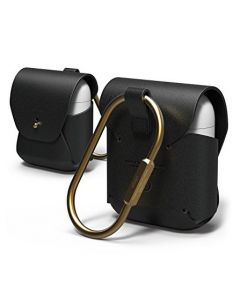 Elago Airpods Leather Case Black