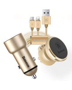Baseus Lefast Vehicle Charging Kit Gold