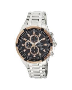 Casio Edifice Chronograph Black Dial EF-539D-1A5V Men's Golden Watch