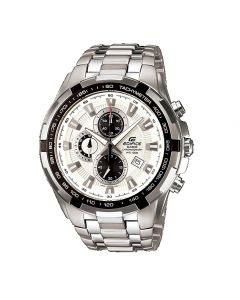 Casio Edifice Chronograph White Dial EF-539D-7AV Men's Watch
