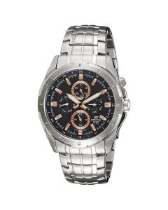 Casio Edifice Multi-Hand Black Dial EF-328D-1A5V Men's Watch