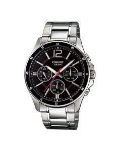 Casio Enticer Analog Black Dial MTP-1374D-1AV Men's Watch