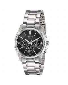 Casio Enticer Analog Black Dial MTP-1375D-1AV Men's Watch