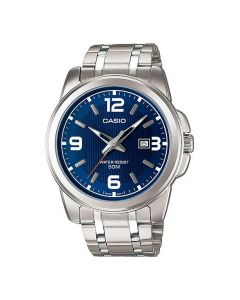 Casio Enticer Analog Blue Dial MTP-1314D-2A Men's Watch