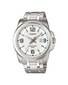 Casio Enticer Analog White Dial MTP-1314D-7A Men's Watch