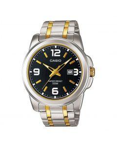Casio Enticer Analog Black Dial MTP-1314SG-1AV Men's Watch