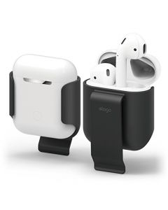Elago Airpods Belt Clip Black