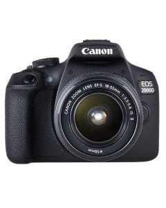 Canon EOS 2000D + 18-55mm Lens