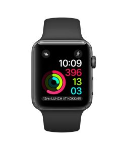 Apple Watch Series 2 42mm MP062LL/A Space Gray Aluminum Case with Black Sport Band