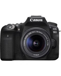 Canon EOS 90D 18-55mm Lens