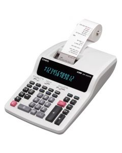 Casio Calculator with Printer DR-120TM White