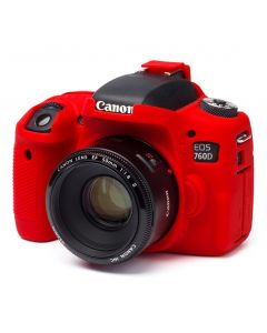 Easy Cover Camera case for Canon 760D Red