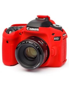 Easy Cover Camera case for Canon 80D Red