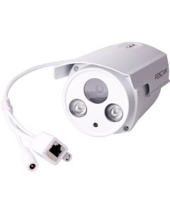 Foscam FI9903P Plug and Play Outdoor HD 1080p Wired IP Camera- White