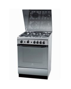 Indesit Gas Cooker I6TG1GKXEX 60x60cm - Manufacturer Warranty + Free Delivery