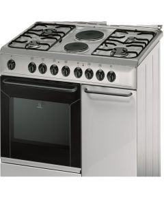 Indesit Combination Cooker K9B11SXI 90x60cm - MANUFACTURER WARRANTY + FREE DELIVERY