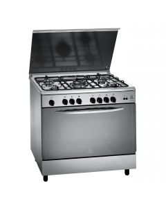 Indesit Gas Cooker 90x60cm KN-F21SXEX - MANUFACTURER WARRANTY + FREE DELIVERY