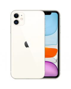 Apple IPhone 11 128GB White Dual Sim Nano with FaceTime