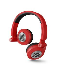 JBL High-Performance On-Ear Headphones Wireless E30BT Red
