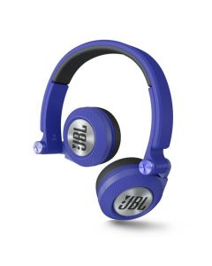 JBL High-Performance On-Ear Headphones Wireless E30BT Blue