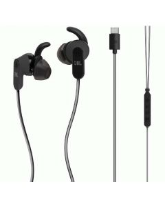 JBL Reflect Aware Earphone with Noise Cancellation and Adaptive Noise Control - Black