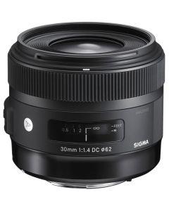 Sigma 30mm F1.4 EX DC HSM Lens for Nikon