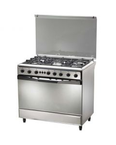 Westpoint Gas Cooker 90x60cm WCA9650GOX - Cast Iron + Manufacturer Warranty + Free Delivery
