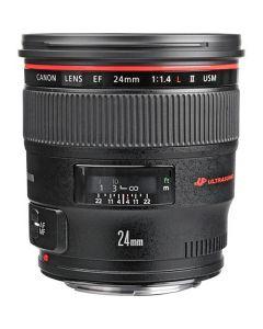 Canon EF 24mm f/1.4L II USM Lens (Wide Angle)