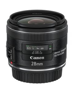 Canon EF 28mm f/2.8 IS USM Lens (Wide Angle)