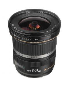 Canon EF-S 10-22mm f/3.5-4.5 USM Lens (Ultra-Wide Zoom)