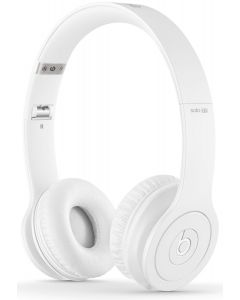 Beats Solo HD Headphones Drenched In Color White