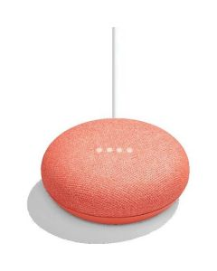Google Home Mini Voice Activated Smart Speaker - Coral