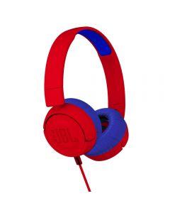JBL JR Kids On-Ear Headphones Red