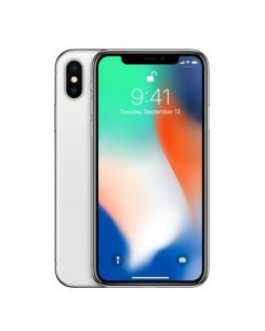 Apple iPhone X 64GB Silver with FaceTime + Apple Warranty