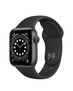 Apple Watch Series 6 40mm GPS Space Gray Aluminum Case with Sport Band