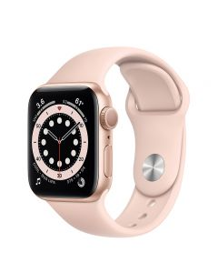 Apple Watch Series 6 40mm GPS Gold Aluminum Case with Sport Band
