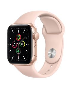 Apple Watch SE 40mm GPS Gold Aluminum Case with Sport Band