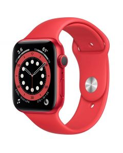 Apple Watch Series 6 44mm GPS RED Aluminum Case with Sport Band