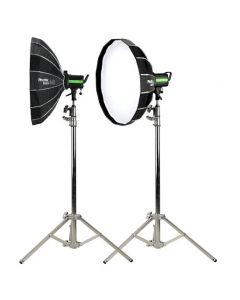 Phottix Rani 60 Folding Beauty Dish (60cm, 24, Silver, 16-Rod)