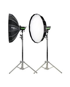 "Phottix Rani 85 Folding Beauty Dish (85cm, 33"", Silver, 16-Rod)"