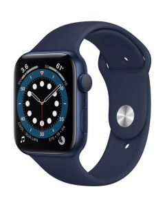 Apple Watch Series 6 44mm GPS Blue Aluminum Case with Sport Band