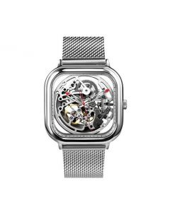 Xiaomi CIGA Design Full Hollow Mechanical Watch - Silver