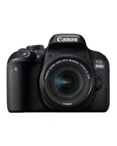 Canon EOS 800D + 18-55mm Lens